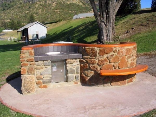 BBQ Curved Wood Creations Tasmania