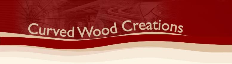 Curved Wood Creations – Kim Clark Retina Logo