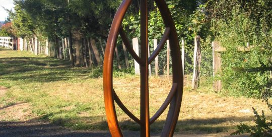 Driveway Marker Curved Wood Creations