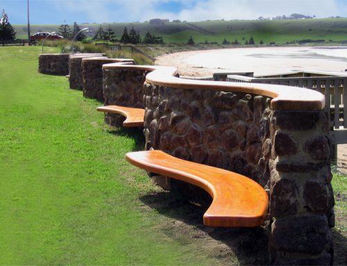 Stanley windbreak wall