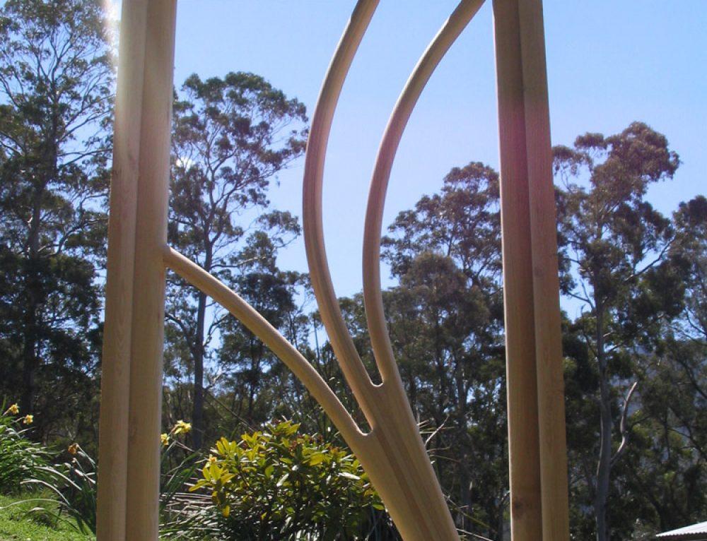 Celery Top Pine Window