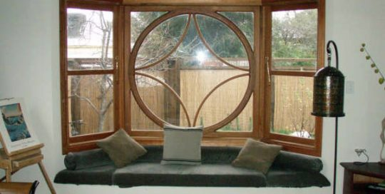Steve's Window Curved Wood Creations Tasmania