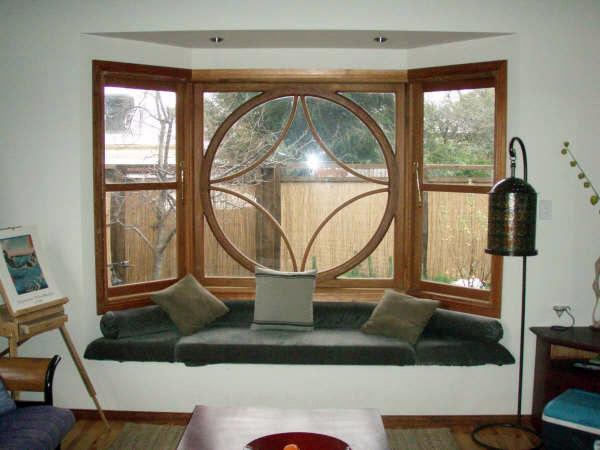 Steve's Window Curved Wood Creations Tasmania